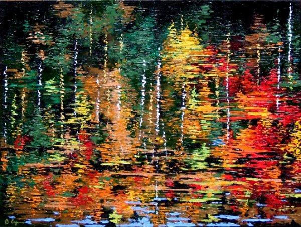 Daniel Gagné : le peintre des forêts
