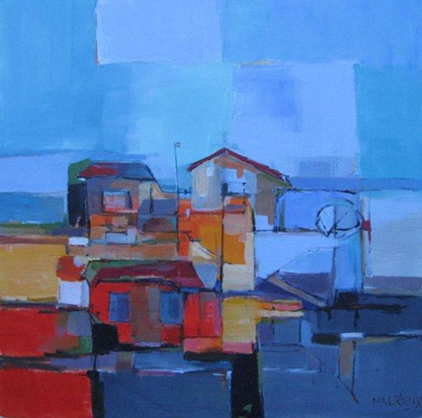 MALRIEUX le Peintre du Cap Ferret