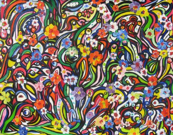 MARTIN CHRIS le peintre tahitien