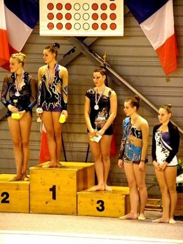 Les resultat du championnat  de france a Chambery Bravo a Gaelle HAMON 1er et a Candice Lerebour 4eme