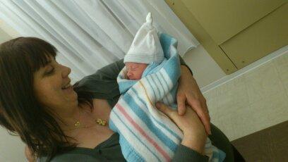 MEILLEURS VOEUX A TOUS  mon nouveau petit fils Lukas