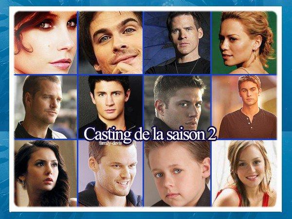 Le générique, le résumé et le casting de la Season Two !