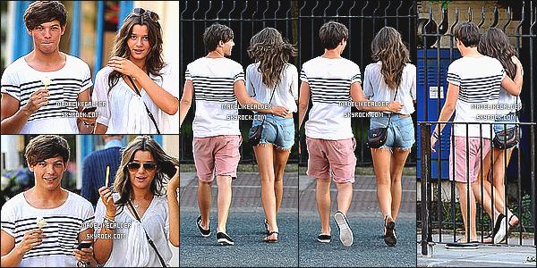 30/09/11: Le couple nommé Louanor a été aperçus pas des paparazzi se promenant ensemble, à Londres. UK Je les trouve très mignon tout les deux ! j'aime bien la tenue d'Eleanor même si elle était plutôt simple: un chemise et un short. top