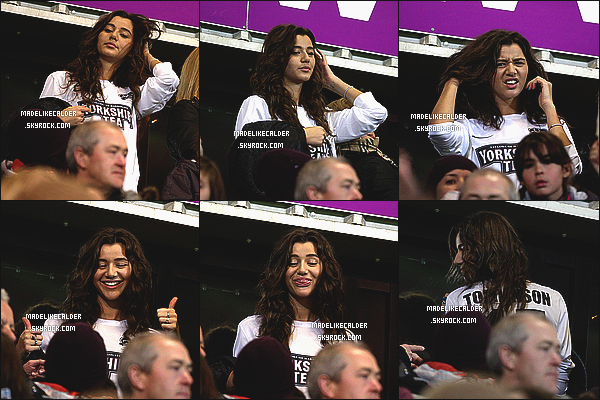 22/10/2012: La souriante Eleanor Calder était présente au match de foot de charité de son charmant copain. Miss Calder toujours aussi sublime, avait vraiment l'air heureuse d'être présente pour l'événement de son Louis ! top pour les photos.