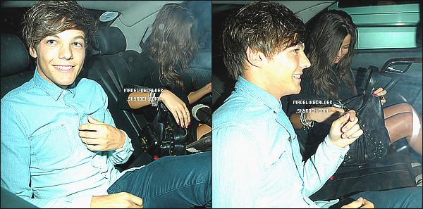 14/09/11: Louis Tomlinson et sa jolie copine Eleanor Calder arrivant au 18e anniversaire de Niall Horan. J'adore les photos, ils sont super souriant, tout les deux ! + J'adore les chaussure d'Eleanor! Comment trouve-tu les photos du candid?