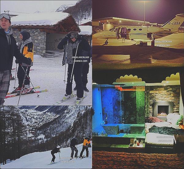 24 et 25 Janvier 2014 : Louis Tomlinson et sa copine Eleanor étaient partis avec des amis pour un weekend à Val d'Isère, en France Le couple, que l'ont n'avait pas vu ensembles depuis longtemps profite enfin d'un peu de bon temps! J'adore les photos qu'ils ont prit! Comment les trouve-tu ?