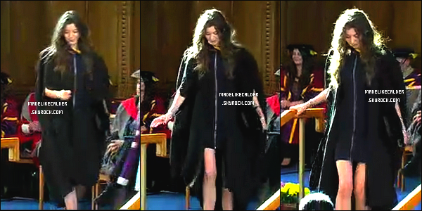 ____• 09/07/14 • GRADUATION DE MISS ELEANOR À L'UNIVERSITÉ DE MANCHESTER !