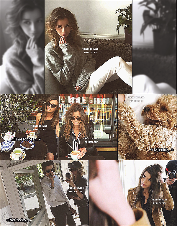 1er et 18 Mai 2015 La jolie Eleanor à été aperçue, par une fan, lorsqu'elle promenait son chien Burce et aussi dans un café - Londres. Ces temps-ci, Eleanor est à fond dans son Instagram, vous allez le découvrir plus bas..! Top pour toutes ses tenues! Dit moi ce que tu en pense dans les com's!