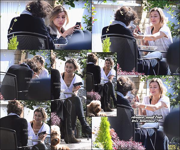 10/07/15: Eleanor a été photographiée promenant son chien Bruce et dans le jardin d'une maison, accompagnée de Max, à Londres. La jeune adulte de maintenant 23 ans portait une tenue plutôt simple et confortable, perso top! Malheureusement la date des photos n'est pas encore déterminée..