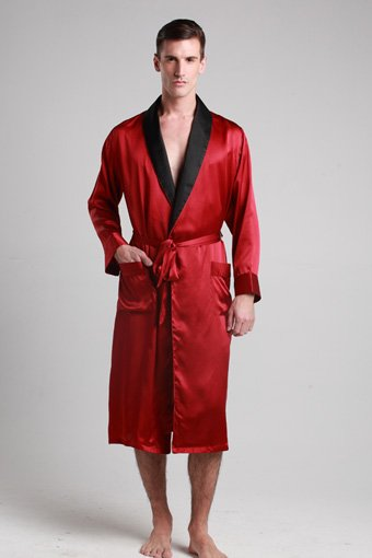 Mens silk robe2