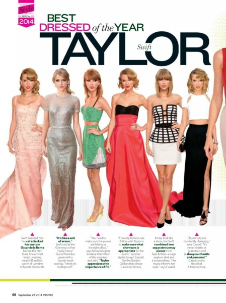 "Scans - People magazine Spécial ""Style"""