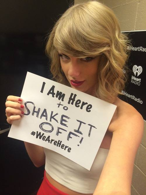 Taylor participe au #WeAreHere d'Alicia Keys!