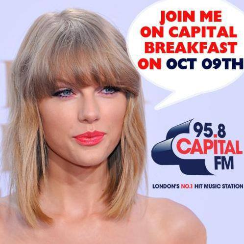 Capital FM - 09/10/14 - Londres