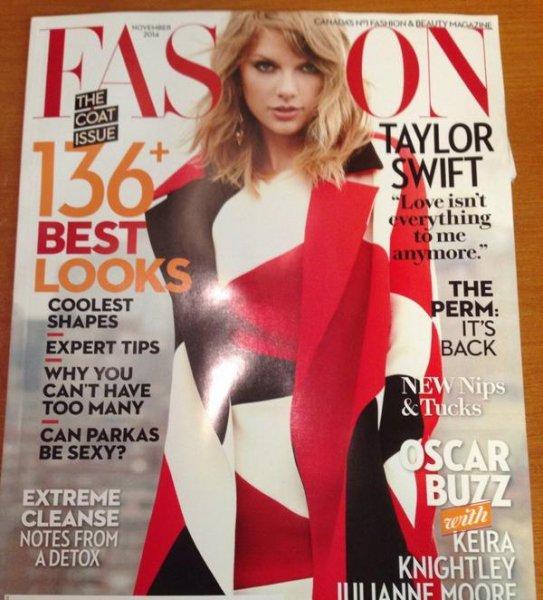 + Autres photos : Fashion Magazine - Novembre 2014