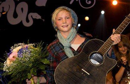 Souvenir de Ulrik en 2009 Lilla melodifestivalen