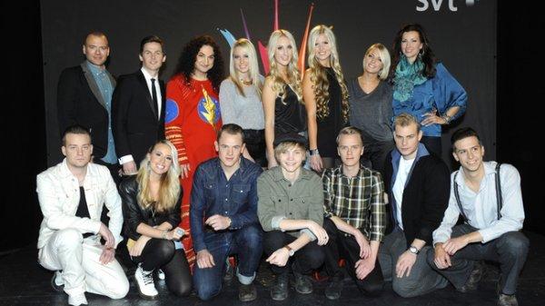 Son explication sur sa candidature pour le Melodifestivalen 2012
