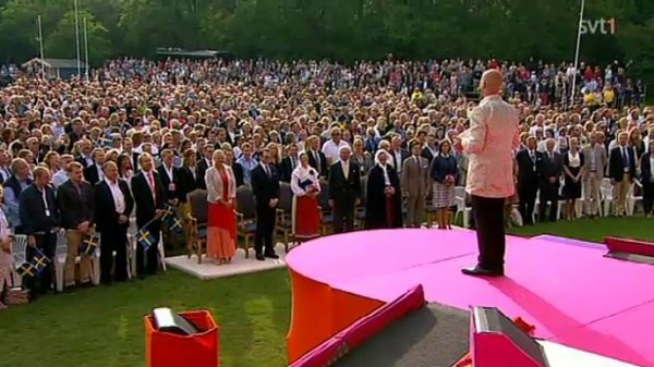Samedi 14 juillet 2012 : Ulrik lors de l'anniversaire de la princesse Victoria de Suède