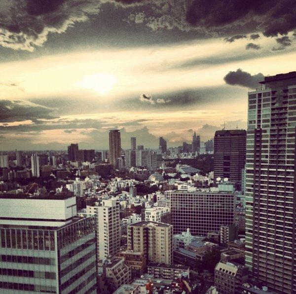 Ulrik est a Tokyo (Japon)