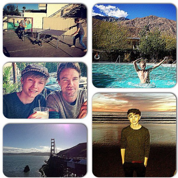 Photos de son voyage a San Francicso