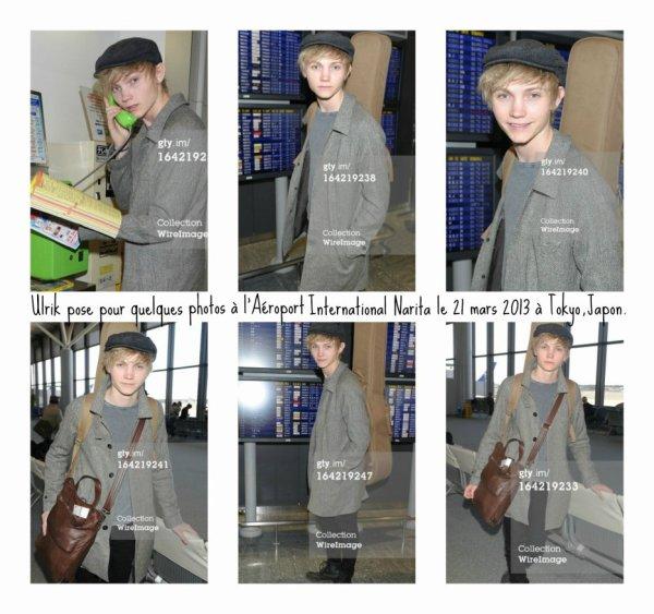 Ulrik était à Tokyo au Japon du 14 mars au  21 mars 2013