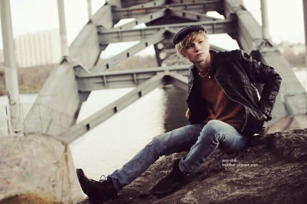 Archive : L'un des photoshoot d'Ulrik