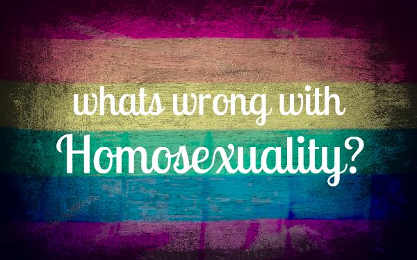 L'HOMOSEXUALITE