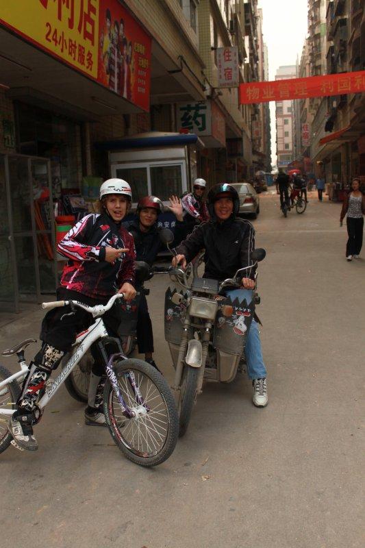 TRIP en CHINE inoubliable !!!!