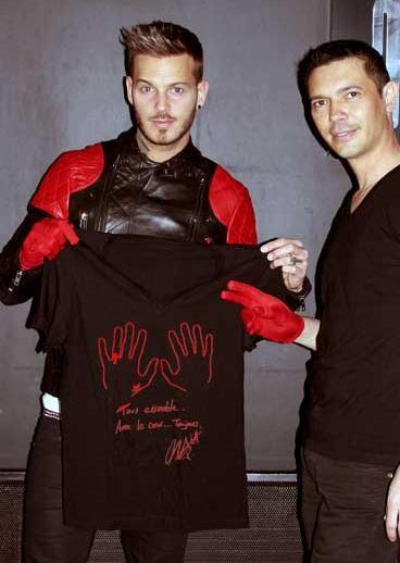 Matt rejoint la collection de t-shirts 2 Mains Rouges