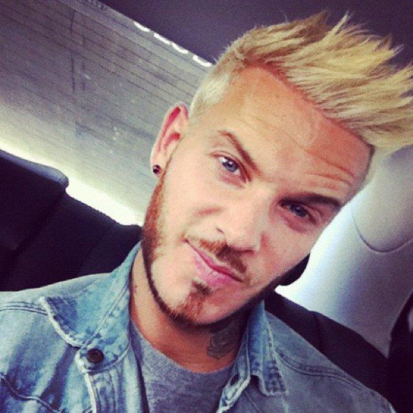 Matt en blond