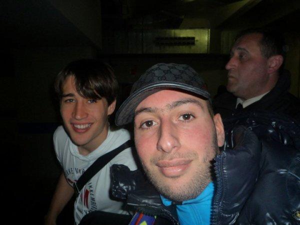 I2h et Bojan l'attaquant du Barça