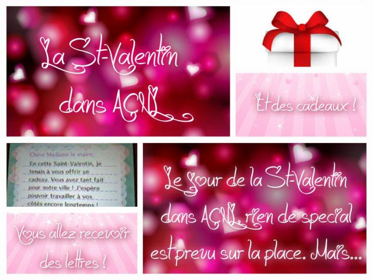 [ EVENEMENTS ACNL ] La St-Valentin ♥