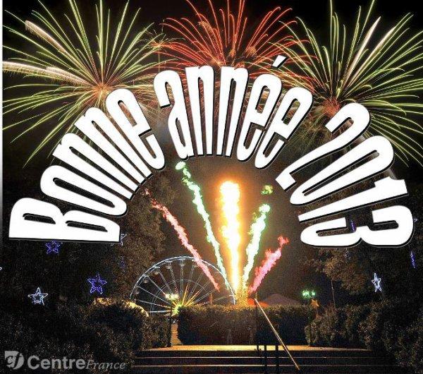 Tres heureuse et bonne année 2013