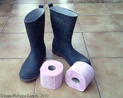 Les bottes de pluie pour Homme, C'EST DE LA MERDE !!!!