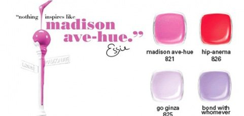 Essie Madison Ave-hue, Collection Printemps 2013