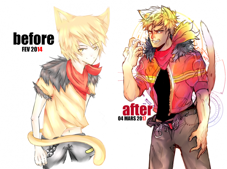 BEFORE AFTER!