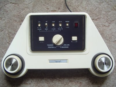 Un Pong de plus : le Magnavox Exel JT 03