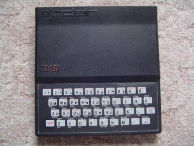 L'initiateur du grand public : le Sinclair ZX81