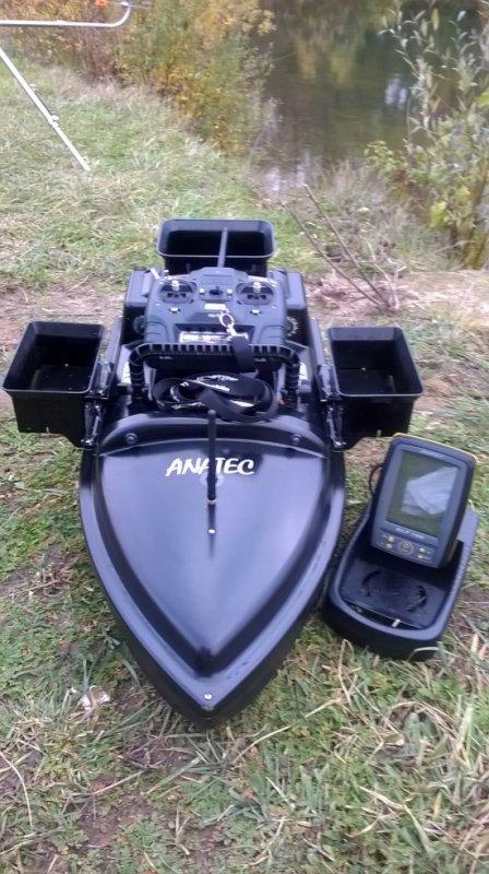 Nouvelle acquisition Anatec 3B et echosondeur Alf100