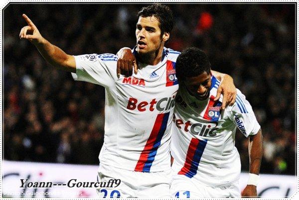 Ligue des champions: L'OL et Gourcuff confirment l'embellie  ♥ 2-0 !!