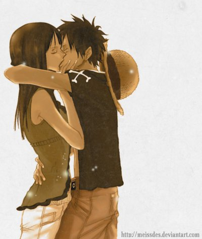Onee Piecee ROBIN x LUFFY