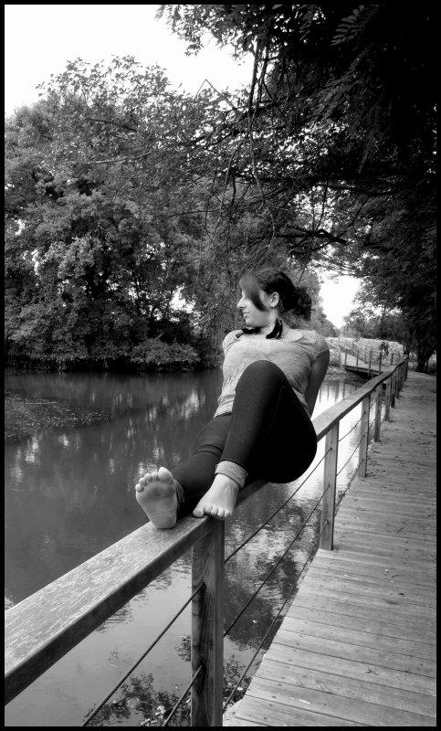 - T'as changé, a tel point qu'avant je riais avec toi, et que désormais, je ris de toi.