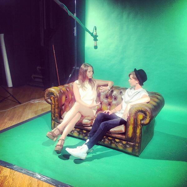 Interview par Elana Di Troya de BTMTV ! :)
