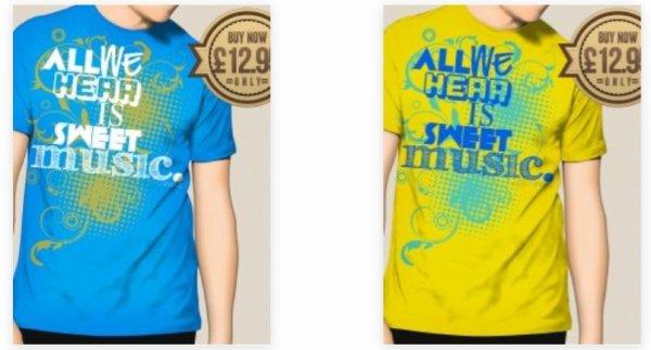 Casque Beats de Ronan & Talula & Ronan & les nouveaux t-shirts disponibles dans la boutique :)