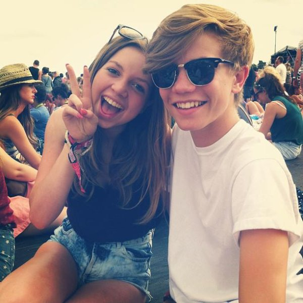 With @soph_anna :) #VFestival