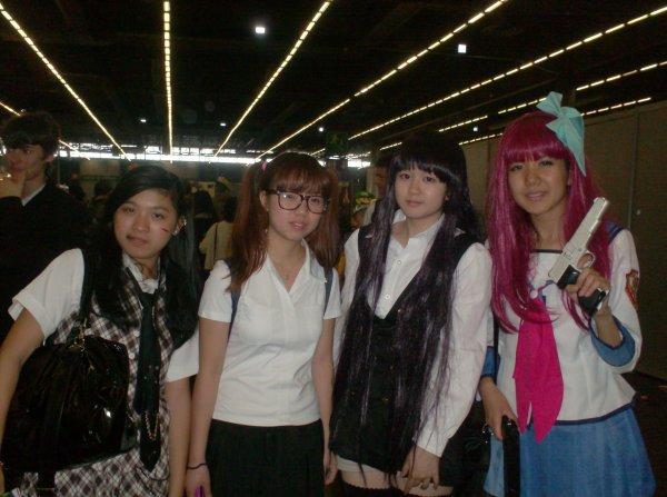 Ma première fois à la Japan Expo, c'est celle de 2013 !! (^u^) Part 3