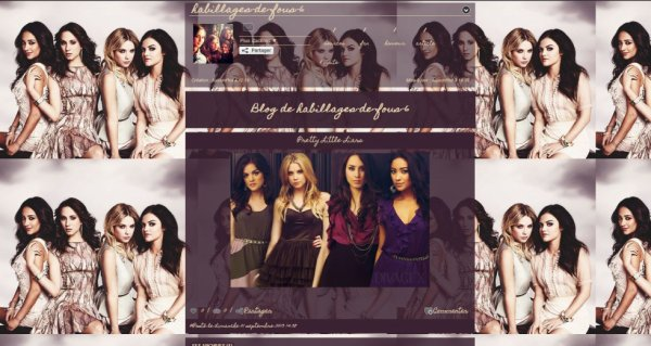 Habillage n°6 Spécial Pretty Little Liars 1