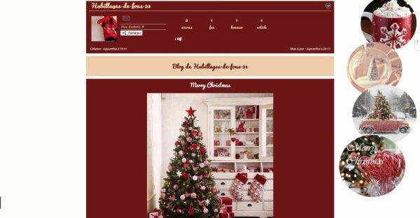 ❄ Habillage n°23 Spécial Noël! ❄