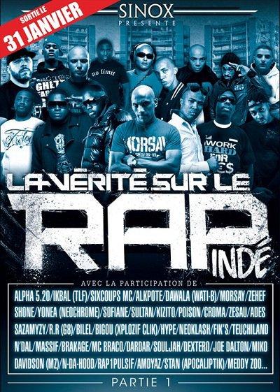 31/01 : La Vérité Sur Le Rap Indé (DVD)