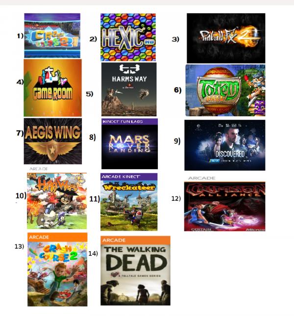 Jeu Gratuit Sur Le Marché Xbox Live (Arcade)