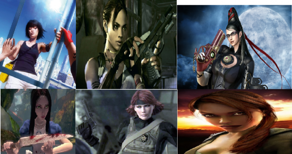 Mes personnages féminin préféré